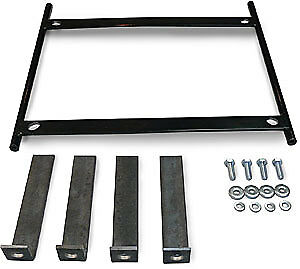 Scat Enterprises Seat Adapter Bracket - Steel - Black - Universal - Each