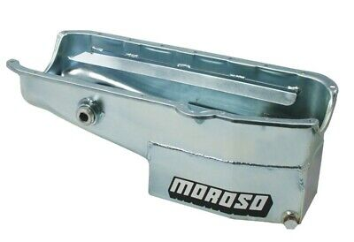 """Painted Finish Oval Track  7.5"""" Depth Oil Pans Moroso 21324"""