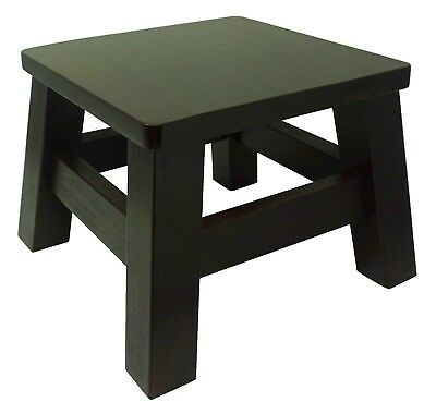 HollandCraft   New Wood Step Stool Wooden Foot Stool Bed Step Stool Beside  Stool