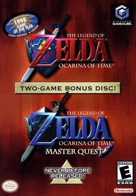 The Legend of Zelda Ocarina of Time Master Quest NINTENDO GameCube Video Game