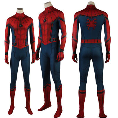 Spiderman Homecoming Spider-man Cosplay Costume Made Superhero 3D Printed Shade