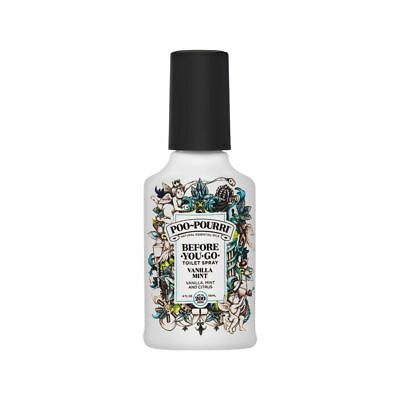 Poo-Pourri Before You Go Toilet Spray 118ml/4oz Vanilla Mint Brand New