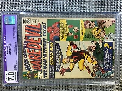 Daredevil #1 (Apr 1964, Marvel) CGC 7.0 Graded