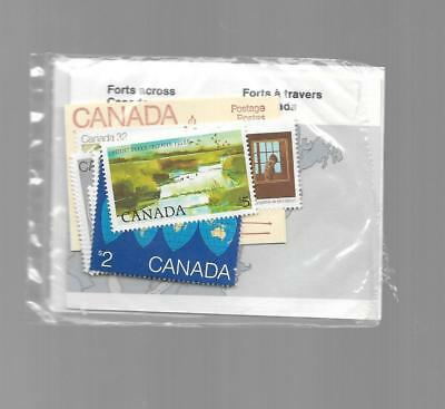 pk38279:Stamps-Canada PO Pak January to June 1983 Stamp Issues - MNH