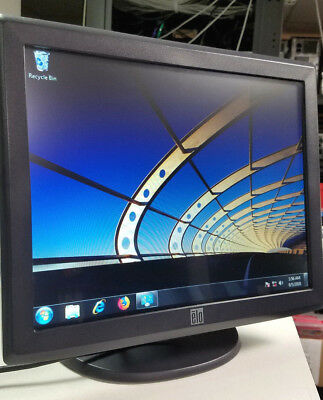 Elo Touch Screen Monitor ET1515L-8CWC-1-GY-G POS LCD Excellent Condition Tested