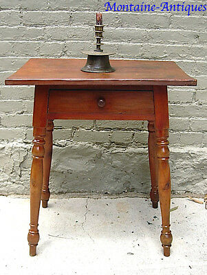 Splay Leg Table with Drawer c. 1820