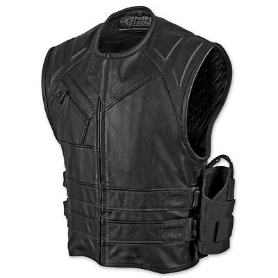 Speed and Strength Men's The Quick and the Dead Leather Vest