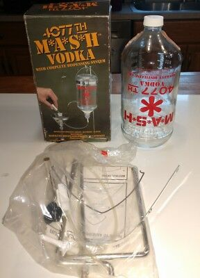 4077th MASH VODKA DISPENSING SYSTEM M*A*S*H Hawkeye Distilled Products Co.