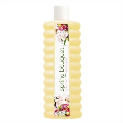Avon Spring Bouquet Bubble Bath 3 X 500Ml ** Free Postage**