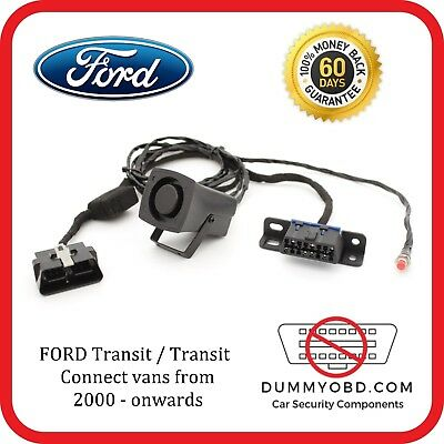 Ford Transit / Transit connect 2000 - onward DUMMY FAKE OBD PORT POWERED SIREN