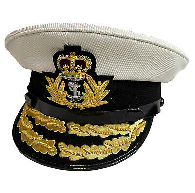 Royal Navy Admirals Officer,RN,Military Cap/Hat SIZE: M, L