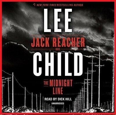 The Midnight Line; A Jack Reacher Novel by Lee Child (audio book, Download)