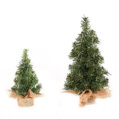 20/30cm Xmas Small Pine Tree Placed In The Desktop Mini Christmas Home Decor New