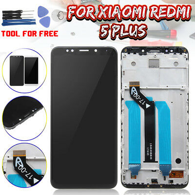 LCD Display Touch Screen Digitizer Glass Assembly +Frame For Xiaomi Redmi 5 Plus