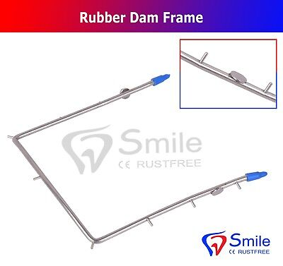 Dental Orthodontic Rubber Dam Frame Implant Instrument German Steel CE New