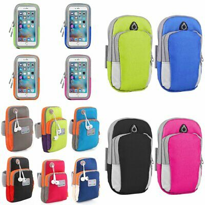 Outdoor Sport Running Gym Armband Arm Band Strap Bag For iPhone S6 Samsung S8 EU