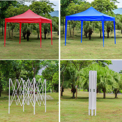 Heavy Duty Pop Up Gazebo Without Sides Market Stall Commercial Party Tent SIZES