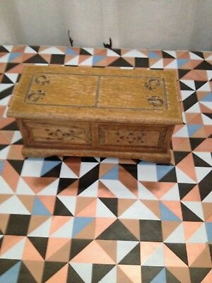 Wooden musical trinket box by Tallent of Old Bond Street,