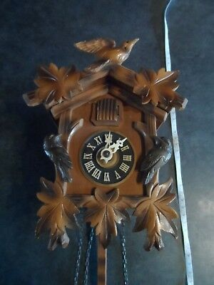 Small wooden cuckoo clock - attic find - for restoration?
