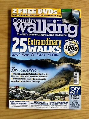 Country Walking Magazine October 2018 NEW