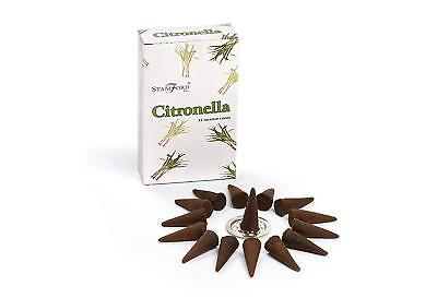 Stamford Citronella Incense Cones Mosquito Deterrent Various Pack Available