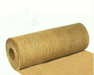 Hessian Garden Frost Protection Weed Barrier 9mtr 29cm Cut Edge
