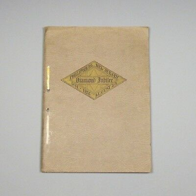 1936 book - History of Phillipburg, Warren County, New Jersey, 1861-1936