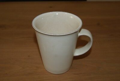 "Denby Energy Cream Large Tea / Coffee Mug - 4.5"" height"