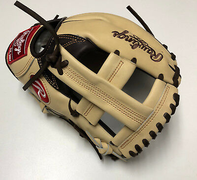 "Rawlings Custom Pro Preferred PROSTT2-1 Camel/Mocha Fielding Glove 11.5"" RHT"