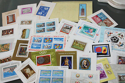 ROMANIA - COLLECTION OF UNMOUNTED MINT MINI SHEETS - ALL DIFFERENT 1960's-70's