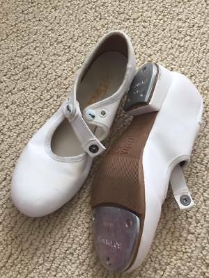 White girls tap shoes size 12