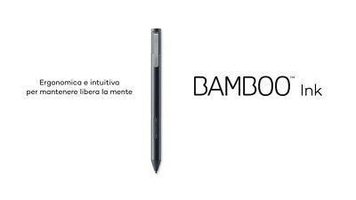 NIB WACOM BAMBOO Ink Smart Stylus Pen Graphic Artist Drawing Intuos Tablet  Touch