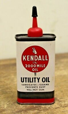 Vintage Kendall Handy Oiler Oil Can