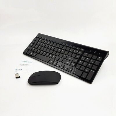 WIRELESS MOUSE & Keyboard Combo Set for Acer Dell Lenovo HP Desktop