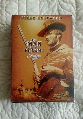 The Man with No Name Trilogy (3 DVD set-1999) Clint Eastwood - NEW