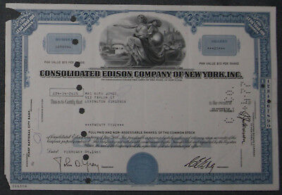 Consolidated Edison Company of New York, Inc. 1965  25 Shares .