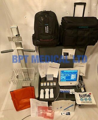 Siemens Acuson Freestyle Diagnostic Ultrasound System Loaded 3 Probes 5 battery