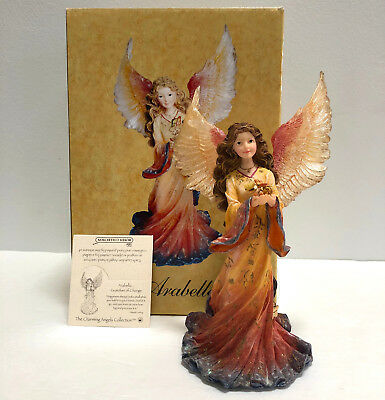 Boyds Charming Angels Figurine Arabella Guardian of Change Mint in Box & Charm