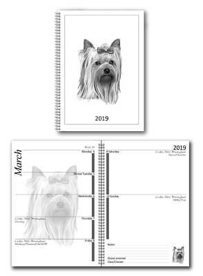 Yorkshire Terrier 2019 A6 Small Dog Show Diary with Championship Show Dates