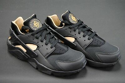 e6f22acd41f3 ... release date bv1166 001 new mens nike air huarache run black black  metallic gold le1070 683d7