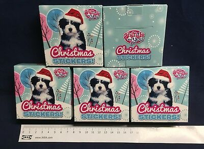 40 Boxes Christmas Stickers Party Bag Toy Job Lot Bulk Wholesale Prizes Grotto