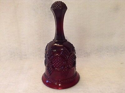 Avon Cape Cod Ruby Red Christmas Bell