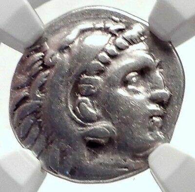 ALEXANDER III the Great 323BC Authentic Ancient Silver Greek Coin  NGC i72076