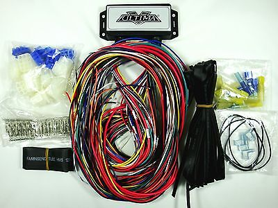 ULTIMA® PLUS ELECTRONIC Wiring Harness System for Harley and Custom on ultima harness 18 530, ultima electronic wiring system, ultima motor wiring diagram,
