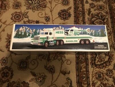 New 1995 Hess TOY TRUCK & HELICOPTER Brand New Collectible NIB