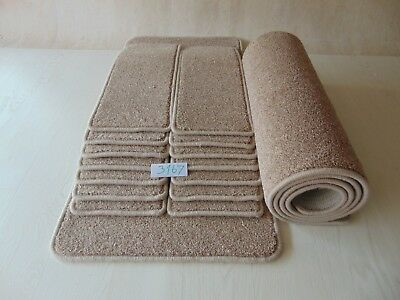 14 Open Plan Stair Treads / Pads / Mats size 61cm x 22cm and 2 BigMats #3167-2
