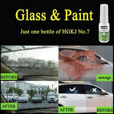 HGKJ-7 Full Car Nano Hydrophobic Coating Windshield Paint Waterproof Liquid