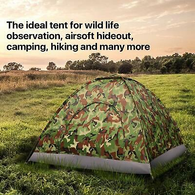 Family Instant Automatic Pop Up Camping Hiking 3-4 Person Men Tent Waterproof UK