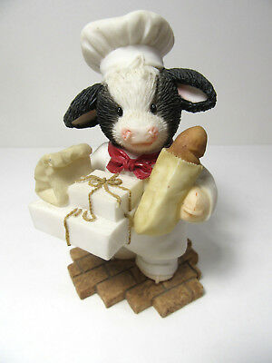 Mary's Moo Moos BULL-IEVE IN ALL THAT'S GOOD IN LIFE Cow Figurine
