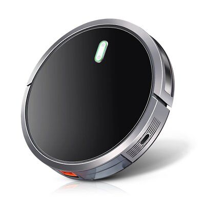 Robot Vacuum Cleaner with 1400Pa Strong Suction, 2600mAh Drop-Sensing Technology